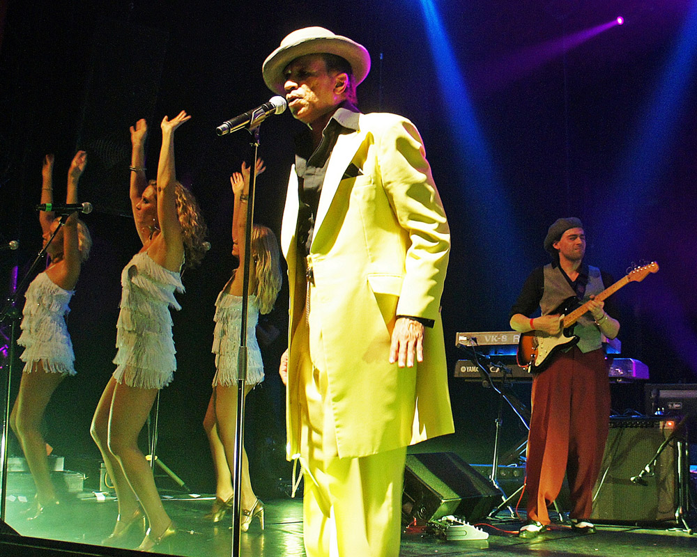 Kid Creole and the Coconuts. Photo: Thierry Collet