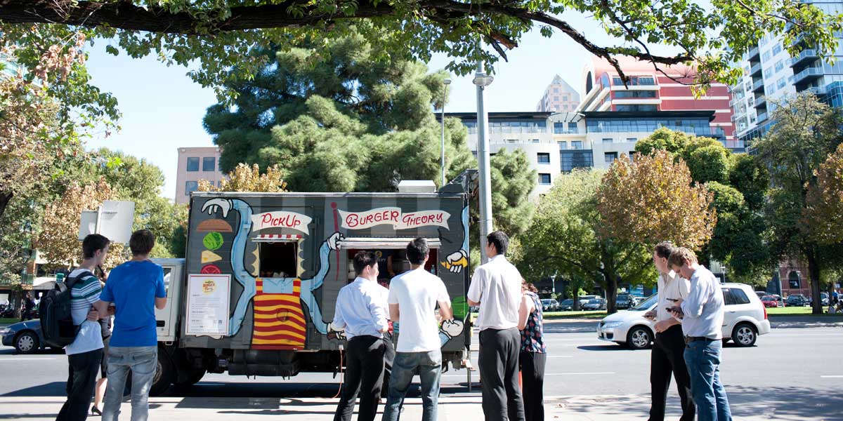 Hindmarsh Square is the location for Saturday's cider festival.