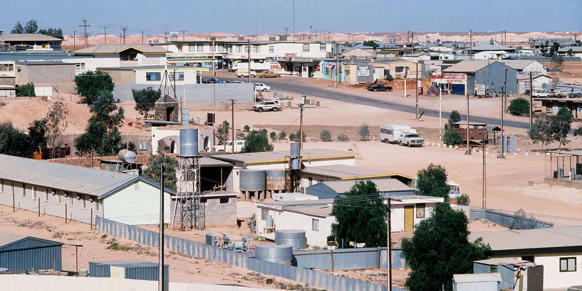 Coober Pedy has struggled with huge electricity charges.