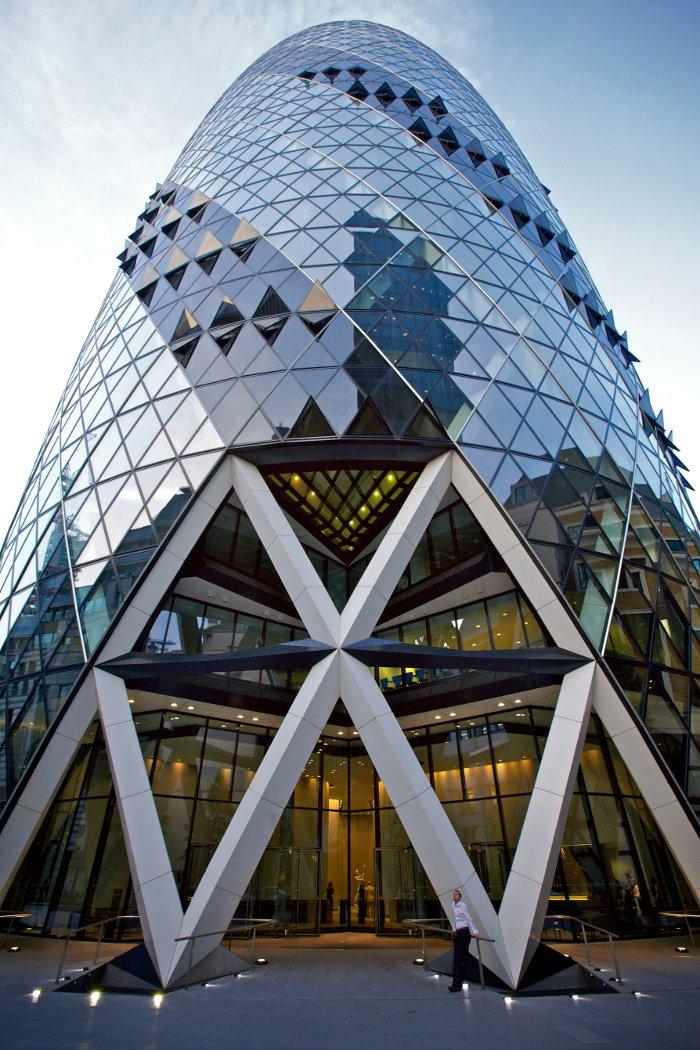 The exterior of the Gerkin Building in London. Photo: Aurelien Guichard