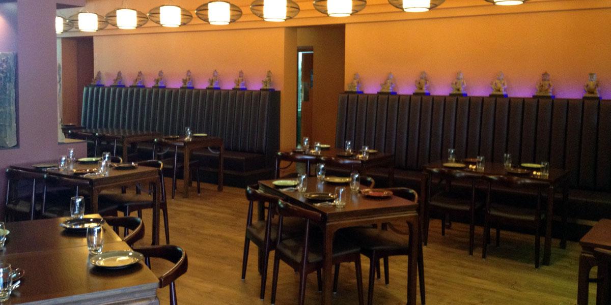 Hanuman restaurant in the Chifley Hotel.