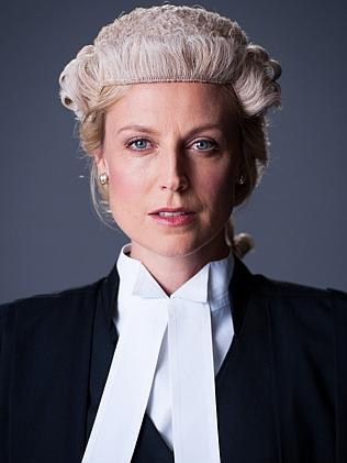 Marta Dusseldorp as Janet King, in the ABC TV series of the same name.