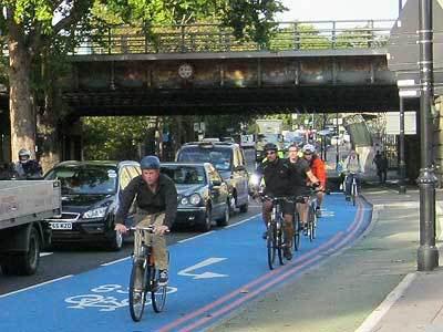 Bad news: Boris actually loves cycle lanes.