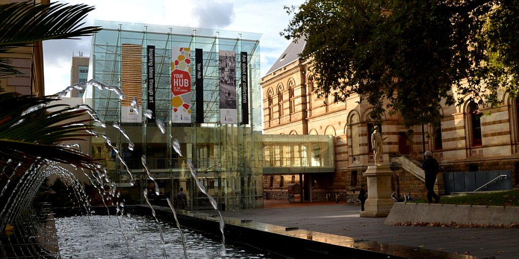 The Spence Wing of the State Library of South Australia. Photo: Bension Siebert/InDaily