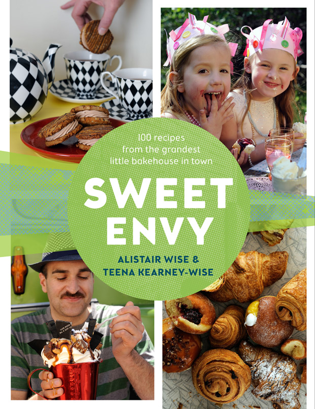 Recipes and images From Sweet Envy, by Alistair Wise and Teena Kearney-Wise, Murdoch Books, $45
