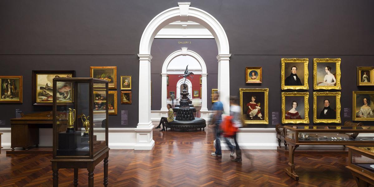 The Art Gallery of SA. Photo: Sam Noonan
