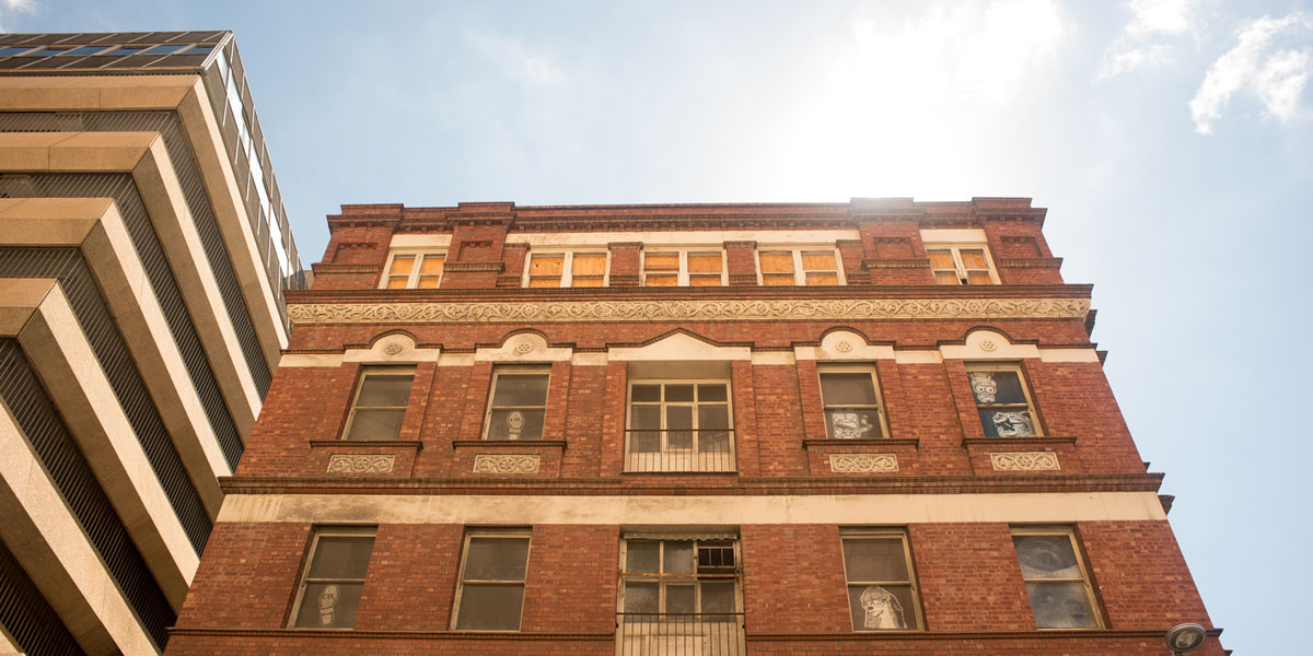 Gawler Chambers on North Terrace. Photo: Nat Rogers/InDaily