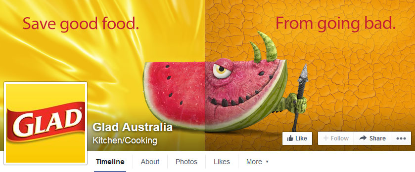 Glad Australia's Facebook page is full of complaints about the new packaging.