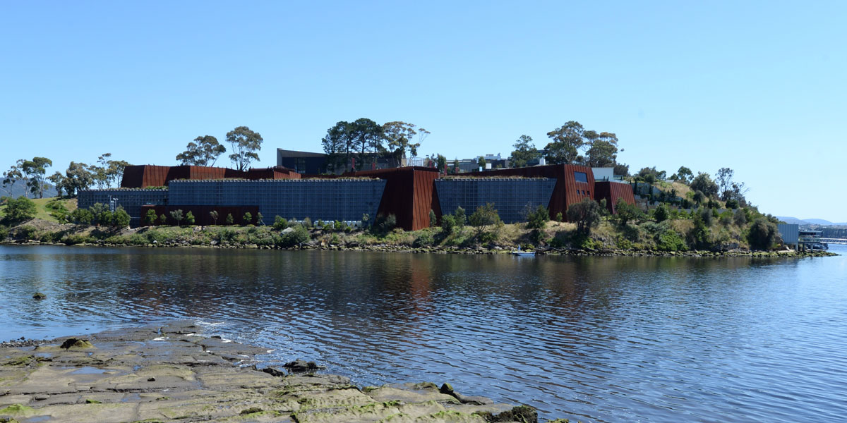 The Museum of Old and New Art (MONA) in Hobart. AAP photo