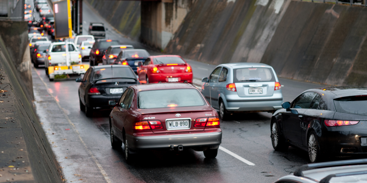 If more city workers worked from home, traffic congestion would ease. Photo: Nat Rogers/InDaily