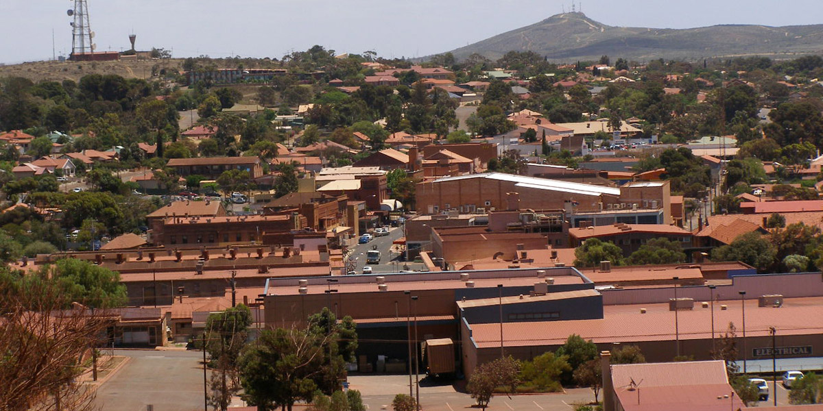 Whyalla's steelworks.