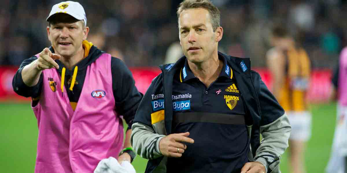 The key question is: why did the Port fan shoot Alastair Clarkson in portrait mode? Photo: Michael Errey/InDaily