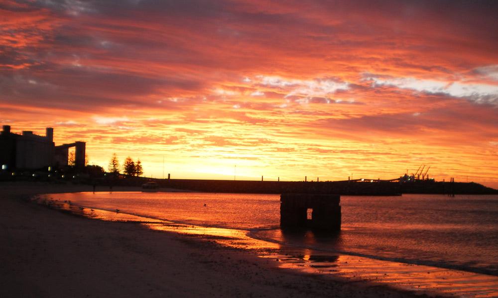 Sunset at Wallaroo. Photo: Tiffany McLean/SATC