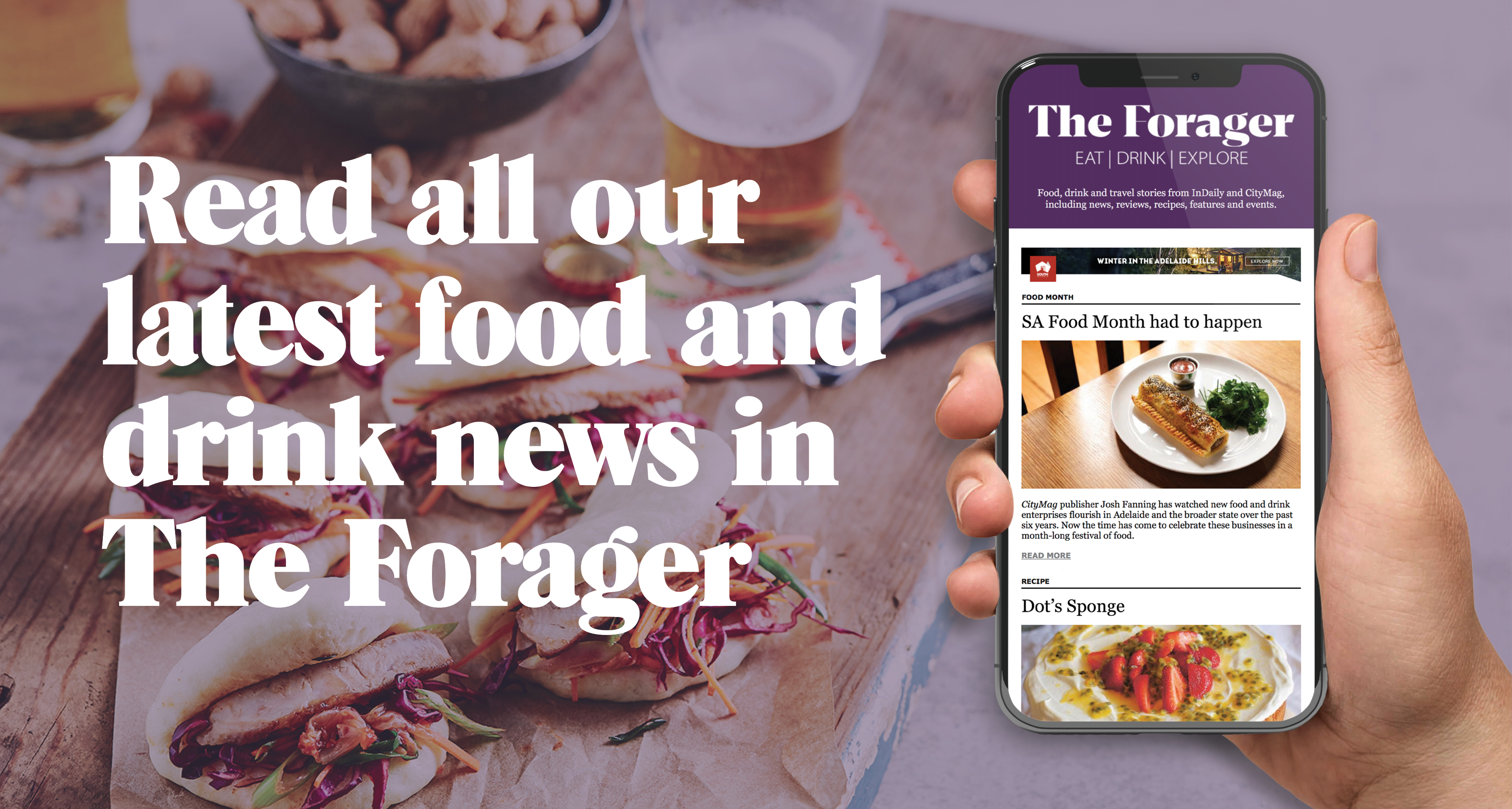 Subscribe to the Forager