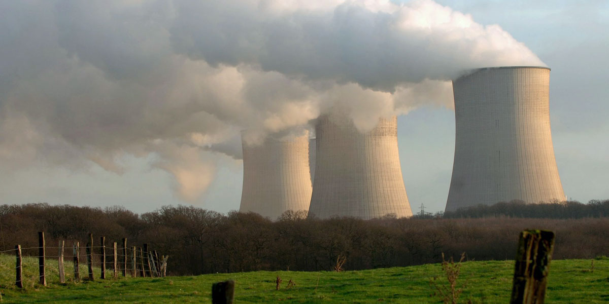 The Cattenom nuclear power plant in France. Photo: EPA/Nicolas Bouvy