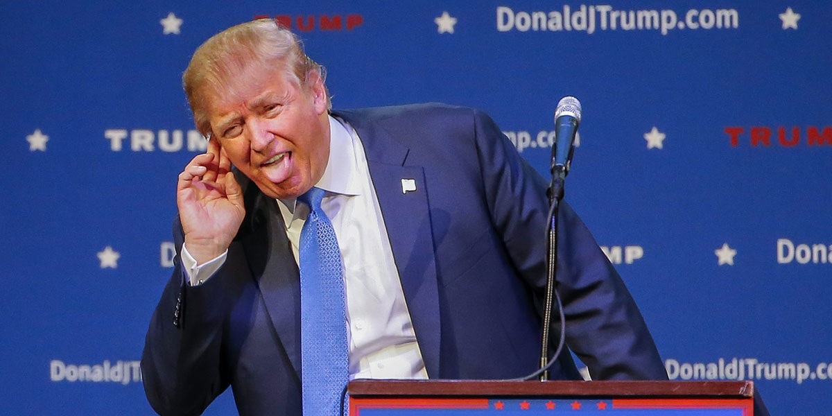 Don't laugh about Donald Trump and what his ascendancy says about US democracy. Australia isn't any better. EPA image