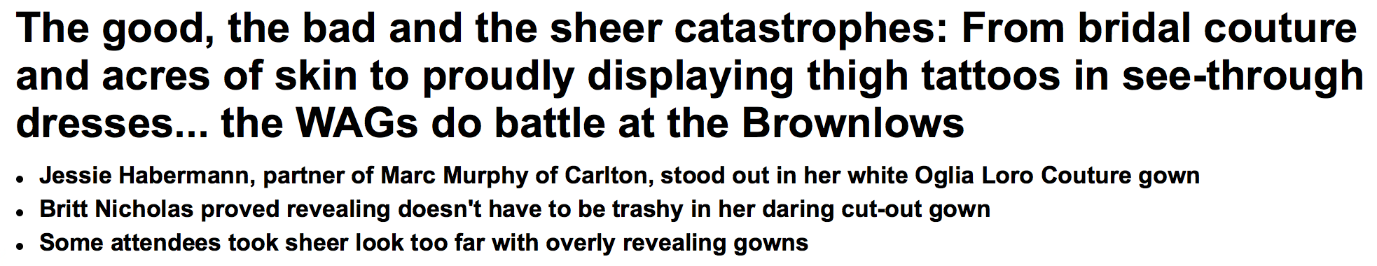 The Daily Mail showing why it's one of the most widely reviled news outlets in the world.
