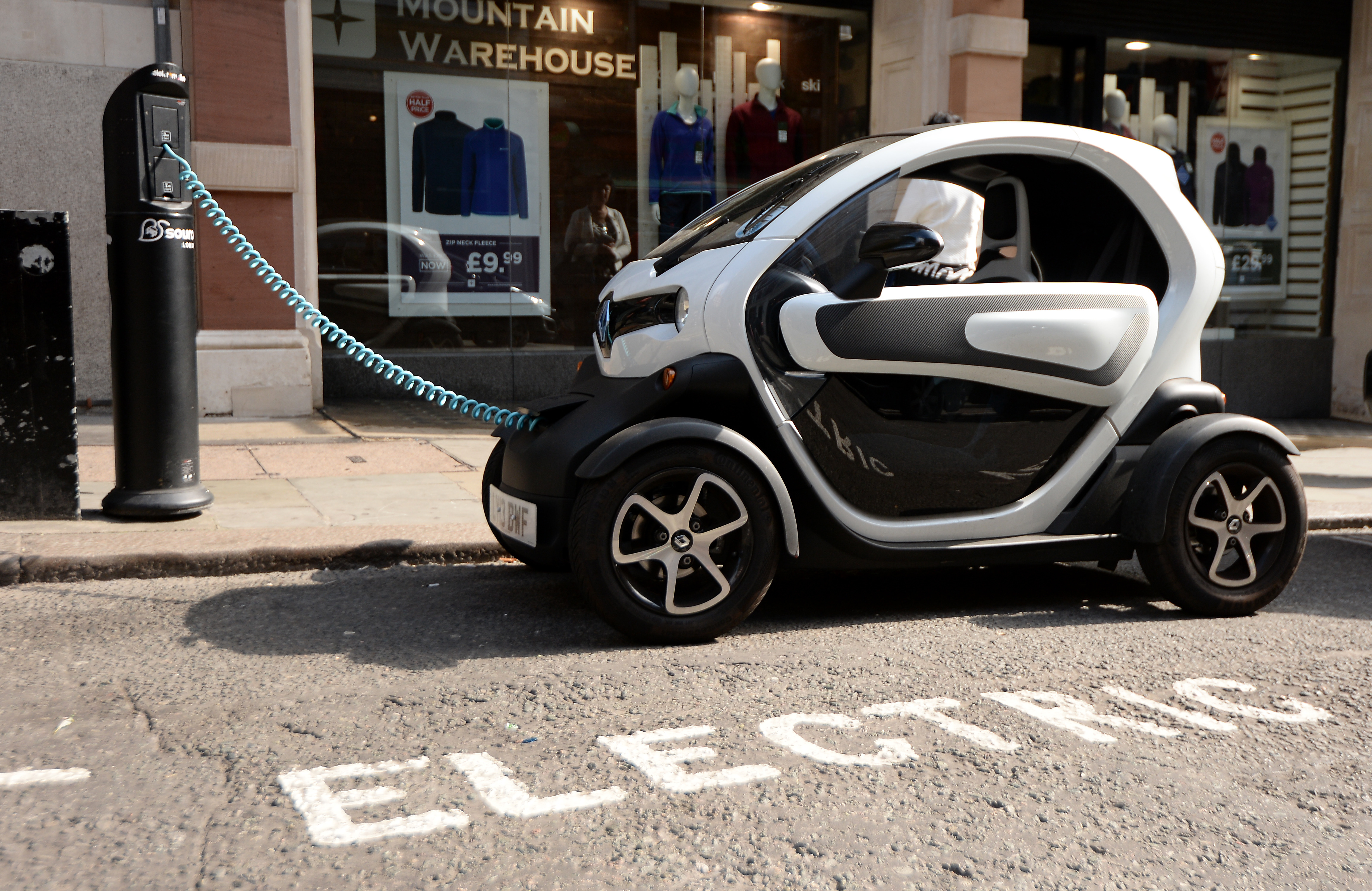 Discount City Parking For Electric Low Emissions Cars