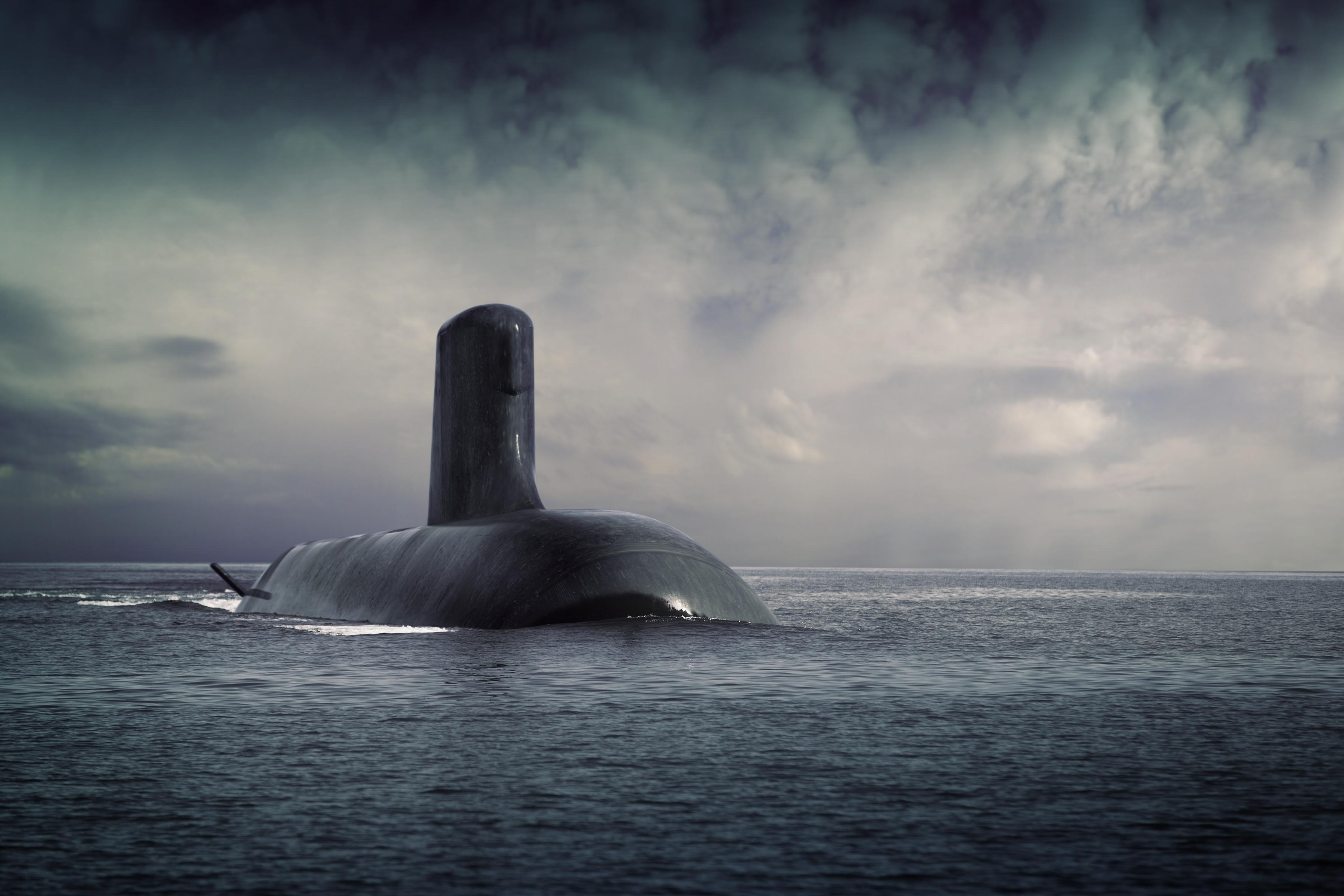 The French Shortfin Barracuda submarine, designed by DCNS.