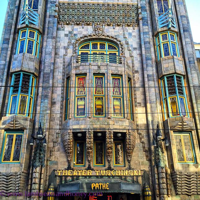 The beautiful Art Nouveau/Art Deco Pathé Tuschinski in Amsterdam.