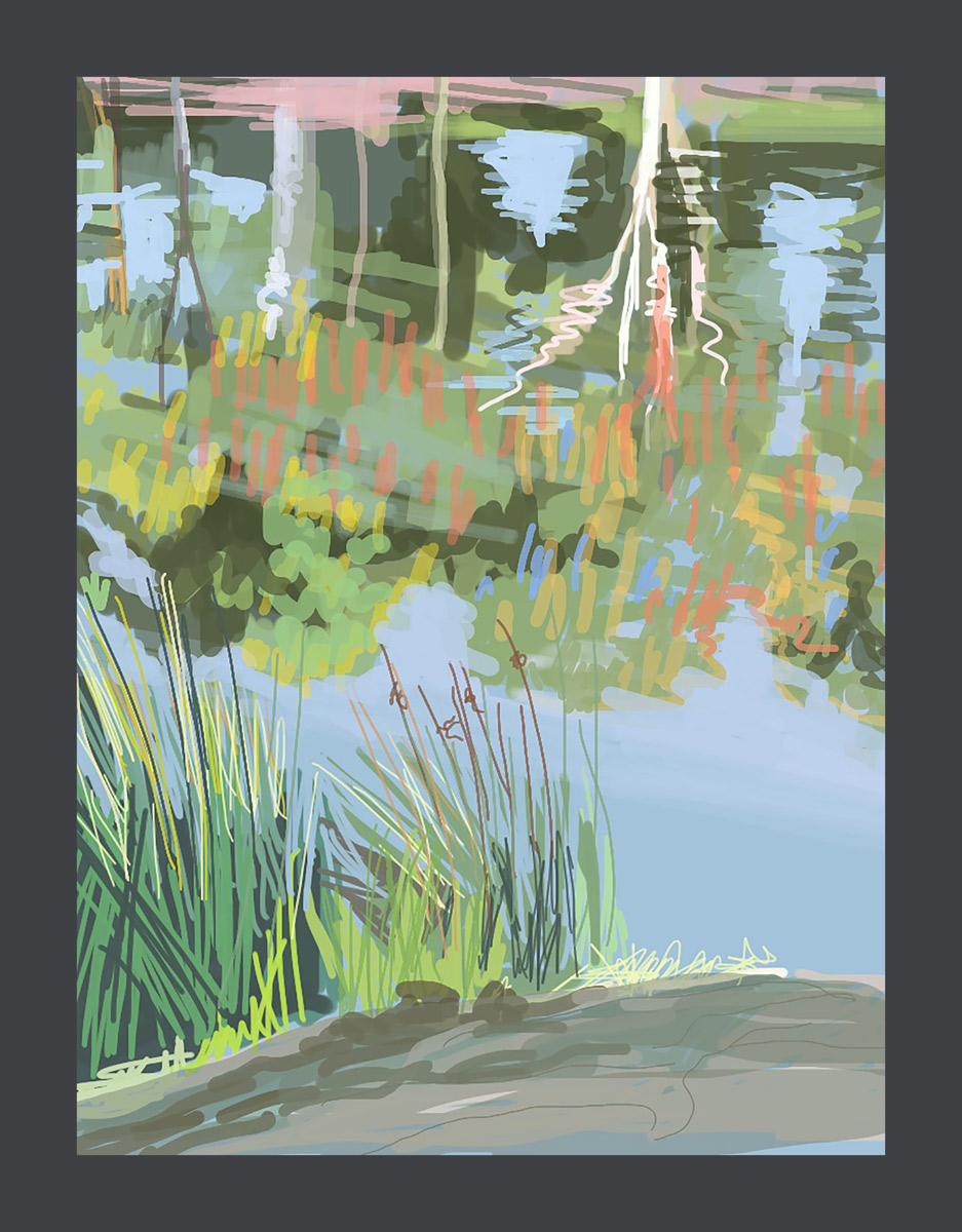 Morning Water, Tulya Wodli by Sally Parnis.