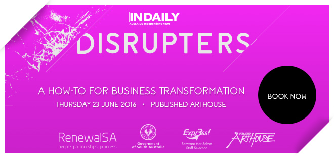 Disrupters Article call to action banner Corners