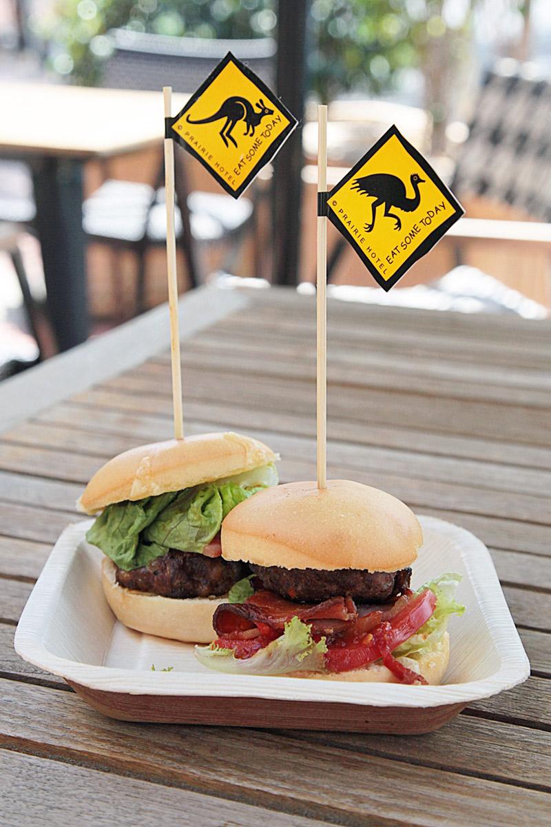 Prairie-Hotel-Kangaroo-and-Emu-Burgers