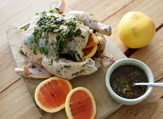 Grapefruit-and-chicken