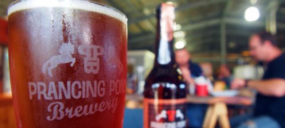 Prancing Pony beer