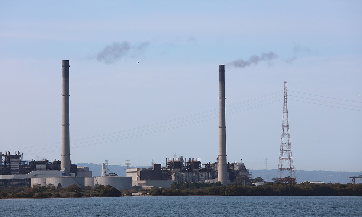 The Torrens Island power station in Adelaide. Photo: Tony Lewis