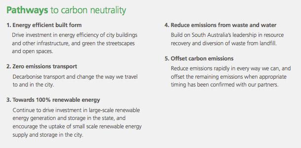 carbon neutral action plan