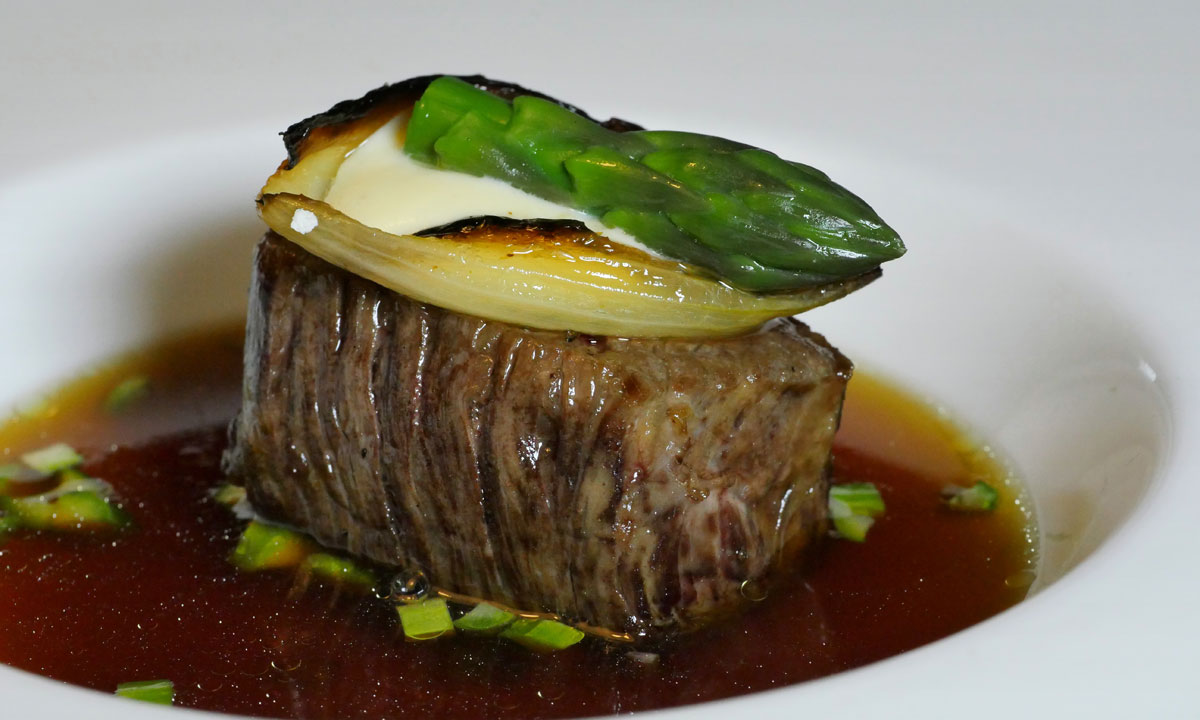 Bavette in beef consommé. Photo: Photo: Dougal McFuzzlebutt