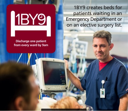 An image from SA Health promotional for the 1 By 9 campaign. Image: supplied.