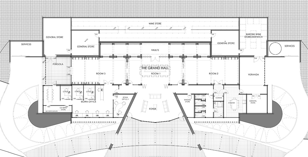 The Barossa Cellar_project drawing