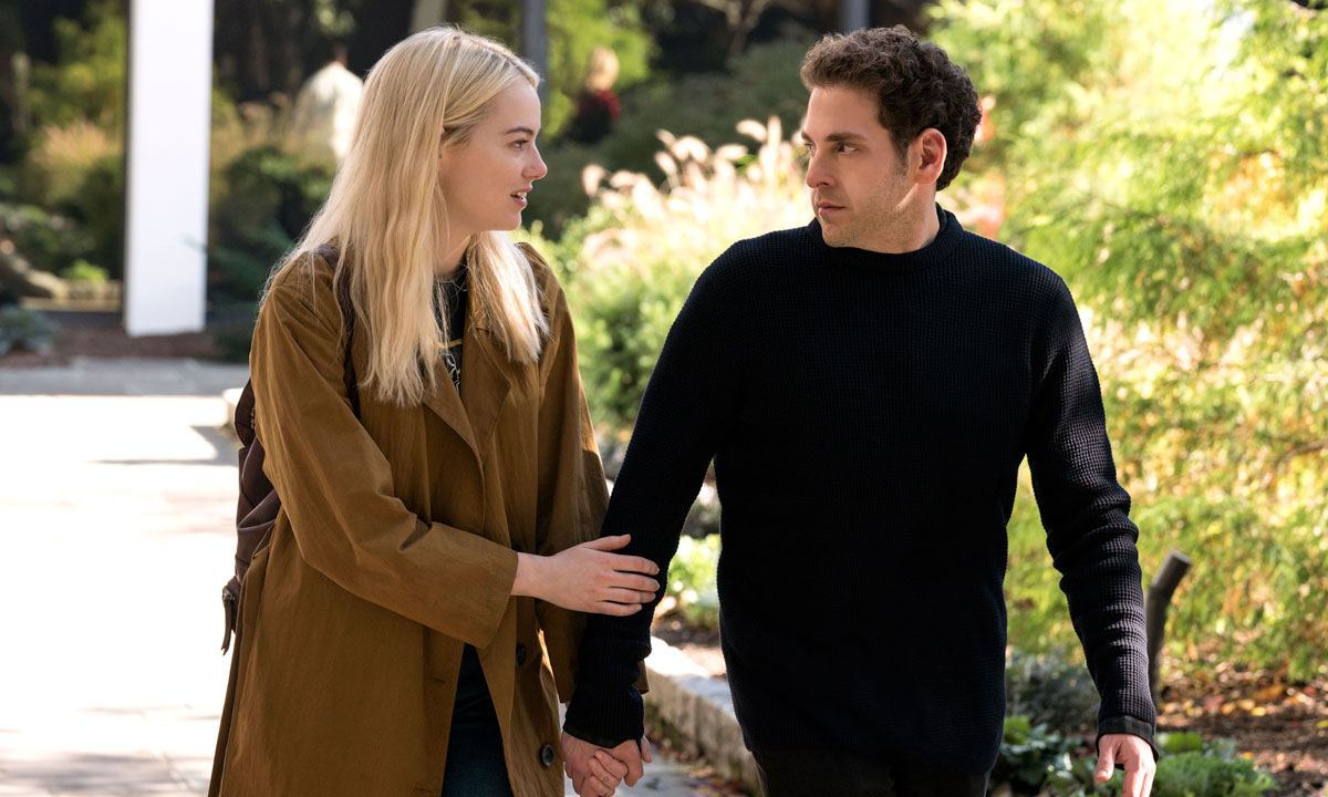 Emma Stone and Jonah Hill in Maniac