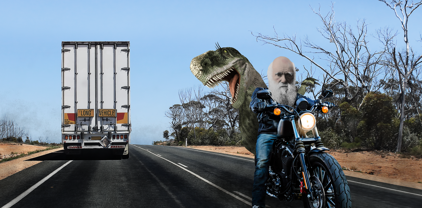 let's take a ride across Australia