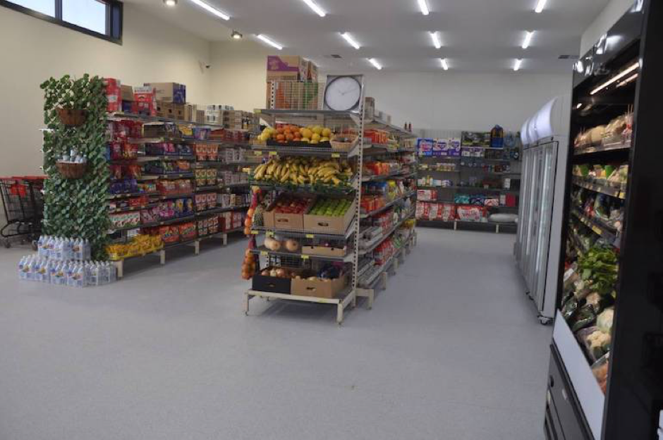 The general store will provide locals with fresh produce and groceries locally for the first time in more than four decades. Photo courtesy ofLuca Cetta, West Coast Sentinel.