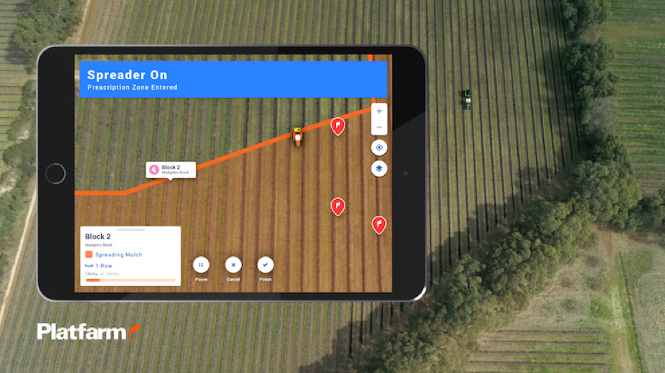 Platfarm allows farmers to see the variability of their land and have greater precision when carrying out work.