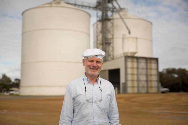 Mark Laucke is managing director of Australia's oldest family-owned flour miller.