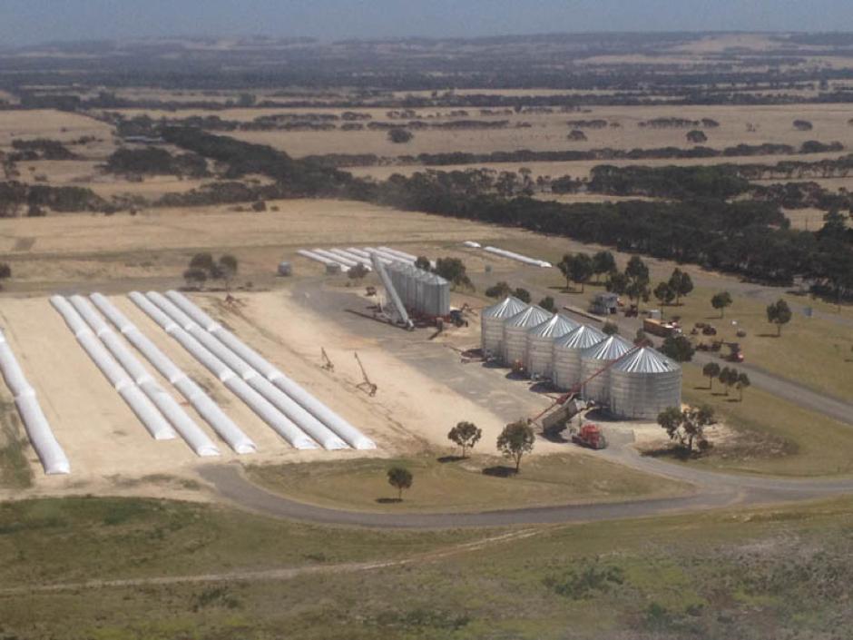 KIPG's site near Kingscote on Kangaroo Island.