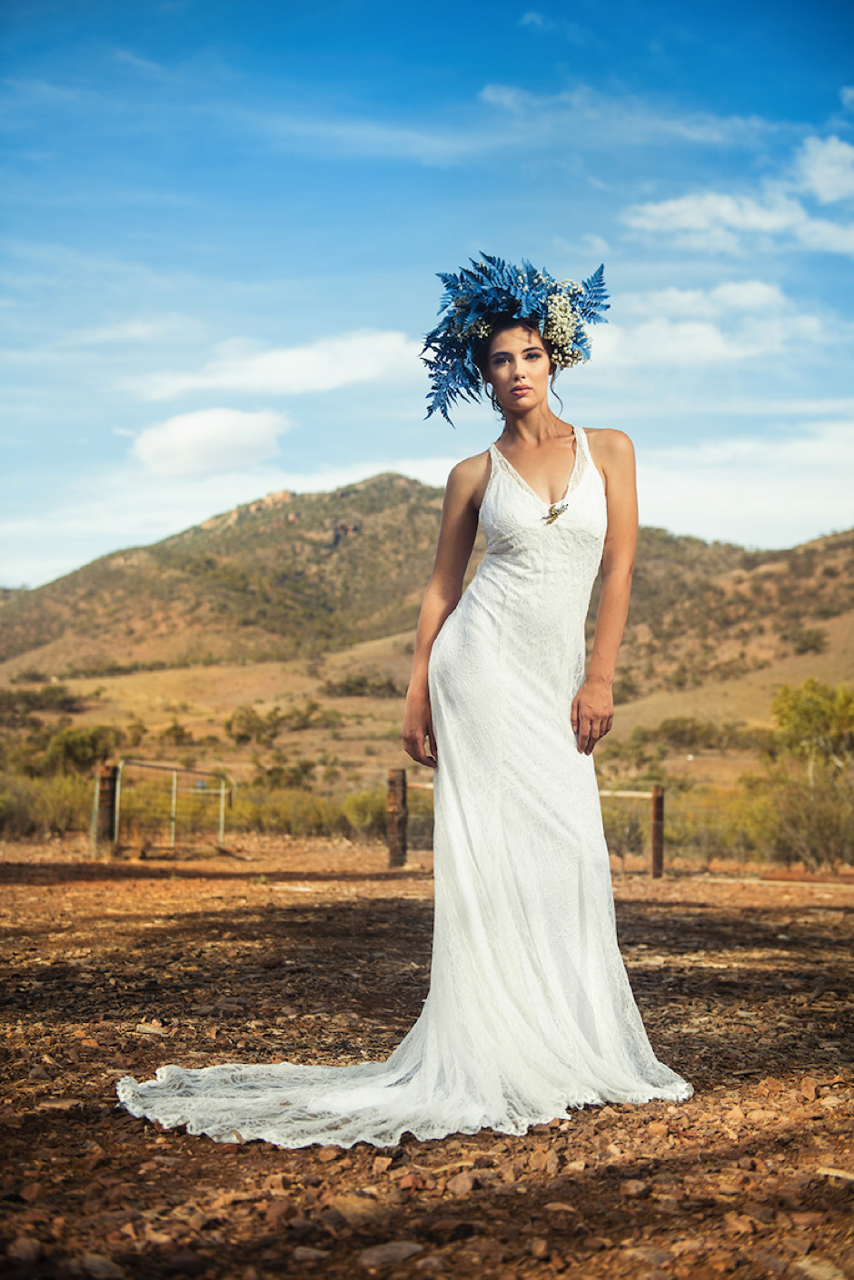 One of Nikki Atkinson's Liv Sienne bridal creations.